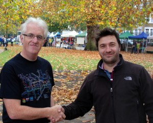 Michael (Oval Partnership) and Laurentiu (Oval FM Manager)