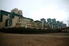 SIS (MI6) building and St George Wharf