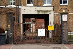 Offley Works entrance on Clapham Road