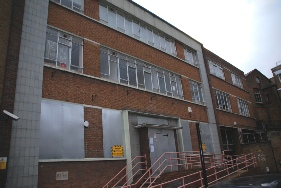 Offley Works offices in Offley Road