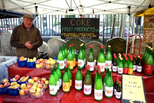 Core Fruit Products at the Oval Farmers' Market