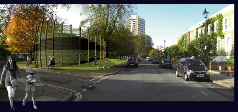 Proposed Claylands Green Vent/Access shaft