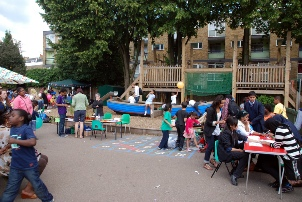 Ashmole Primary School-Summer fair