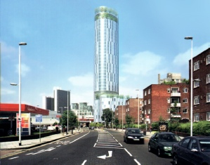Vauxhall Sky Gardens-second proposal