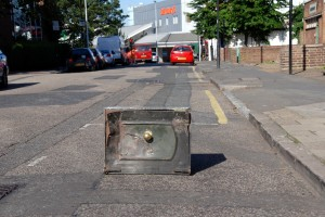 Safe in Wyvil Road after riots