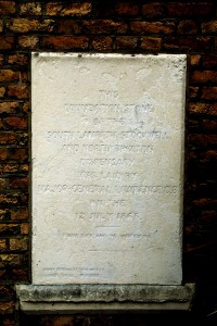 South Lambeth Stockwell and North Brixton Pharmacy Foundation Stone