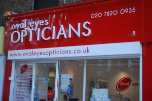 The new opticians on the Oval Parade